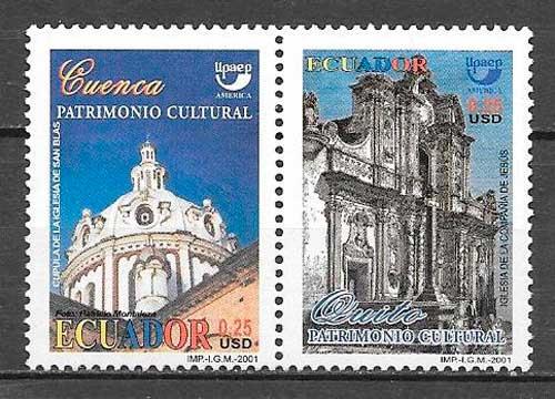 colección sellos UPAEP Ecuador