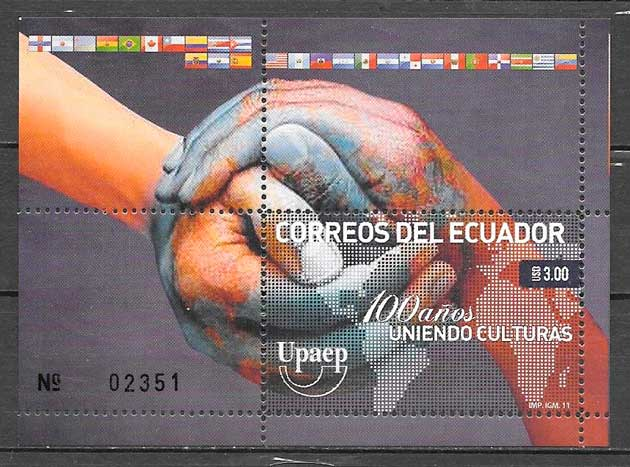 filatelia UPAEP Ecuador 2011