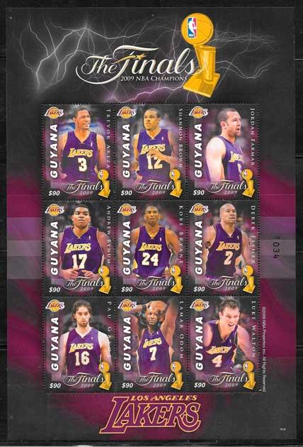 sellos NBA Guyana 2009