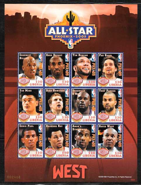 sellos NBA Liberia 2009