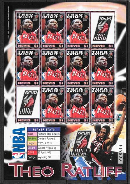 sellos NBA Nevis 2005