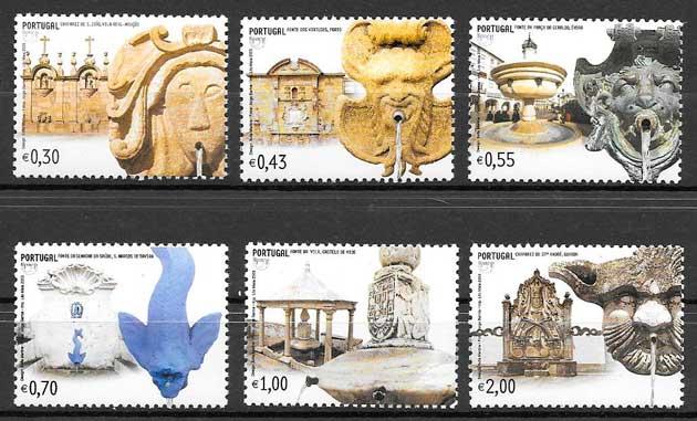 colección sellos UPAEP Portugal 2003