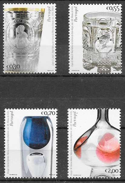 sellos arte Portugal 2003
