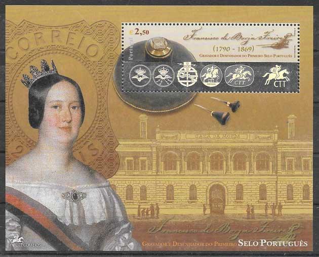 sellos personalidades 2003 Portugal