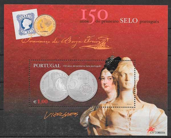 sellos aniversarios Portugal 2003
