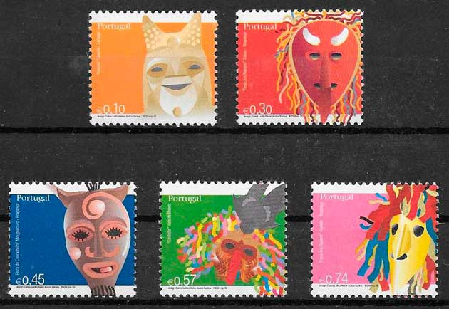colección sellos arte Portugal 2005