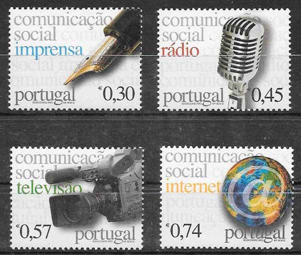 sellos arte Portugal 2005