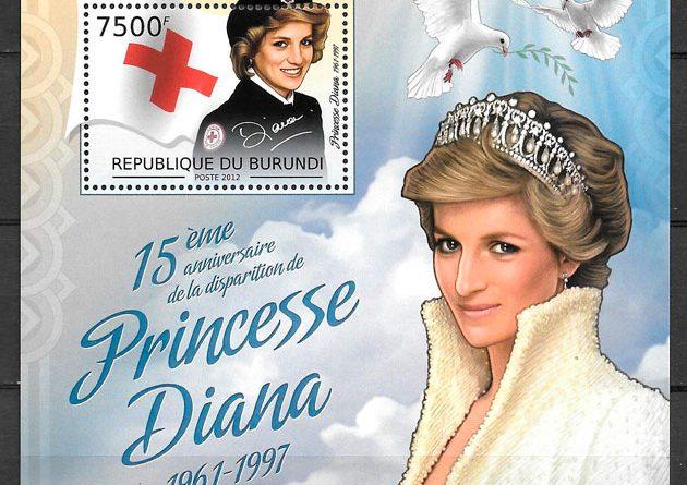 sellos Ladi Di Burundi 2012