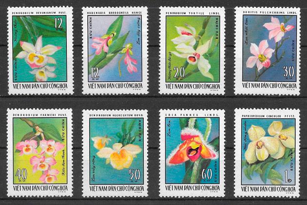 sellos orquídeas Viet Nam