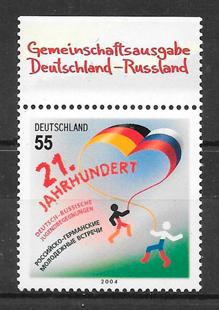 sellos emisiones conjunta Alemania 2004