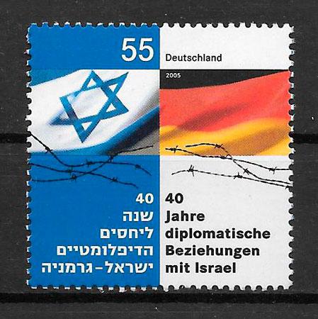 sellos emisiones conjunta Alemania 2005