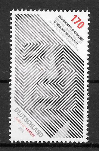 colección sellos emisiones conjunta Alemania 2010