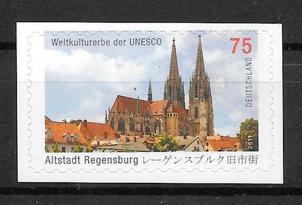 sellos emisiones conjunta Alemania 2011