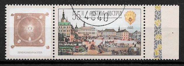 filatelia colección emisiones conjunta Austria 2006