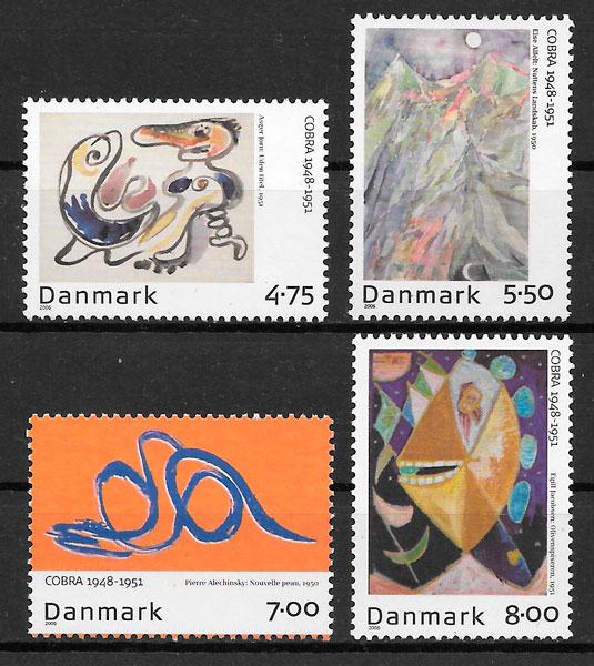 sellos emisiones conjunta Dinamarca 2006