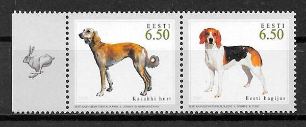sellos emisiones conjunta Estonia 2005