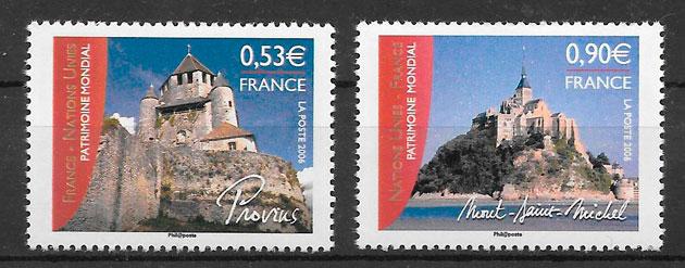 sellos emisiones conjunta Francia 2006