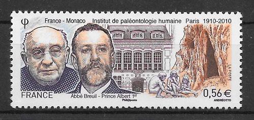 sellos emisiones conjunta Francia 2010