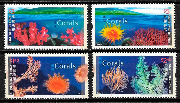 sellos emisiones conjunta Hong Kong 2002