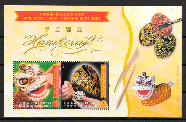 sellos emisiones conjunta Hong Kong 2011