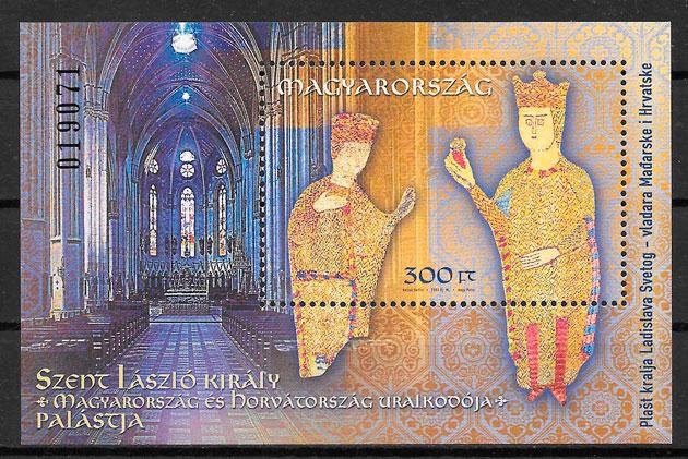 filatelia colección emisiones conjunta Hungría 2003