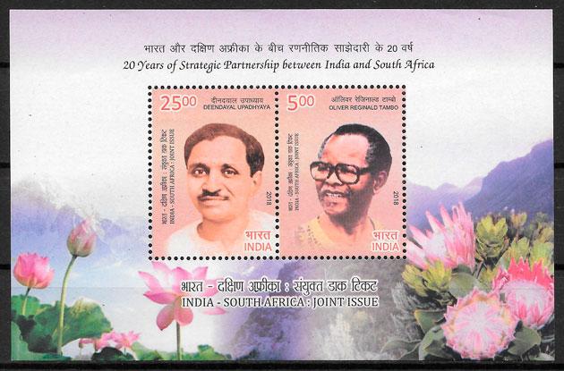 selos emisiones conjunta India 2018