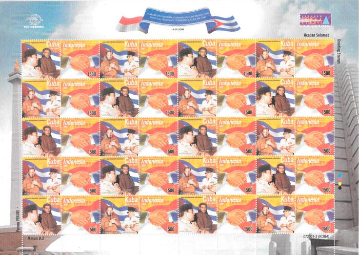 sellos emisiones conjunta Inodesia 2007