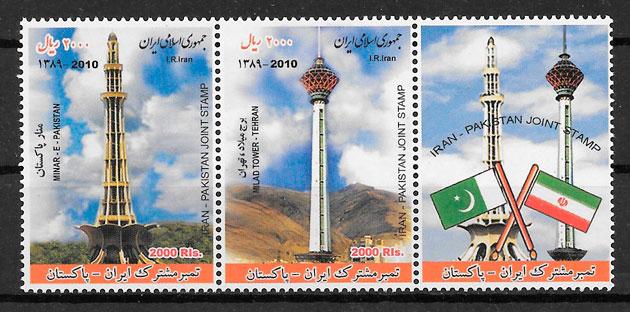 sellos emisiones conjunta Iran 2011