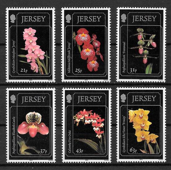 sellos orquídea Jersey 1999