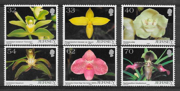 sellos orquídeas Jersey 2004