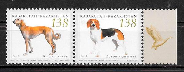 sellos emisiones conjunta Kazakstán 2005