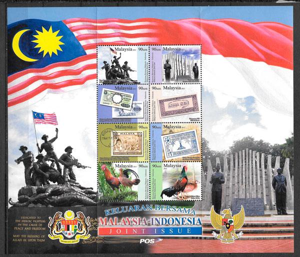 sellos conjunta Malasia 2011
