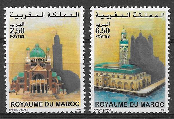 colección sellos emiones conjunta 2001