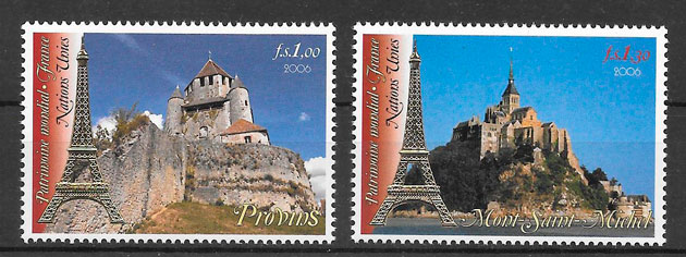 sellos emisiones conjunta Naciones Unidas 2006