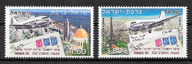 filatelia emisión conjunta Israel 2008