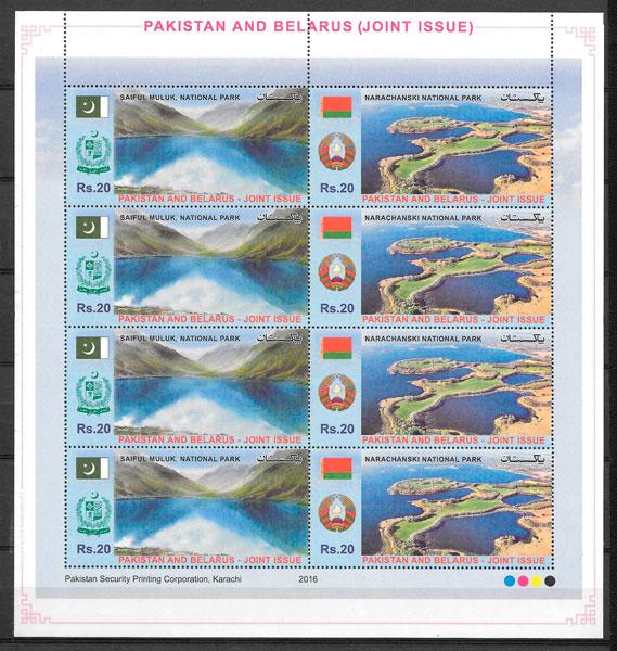 sellos emisiones conjunta Pakistán 2016