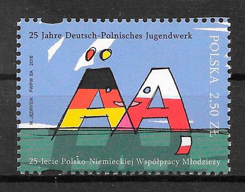 sellos emisiones conjunta Polonia 2016