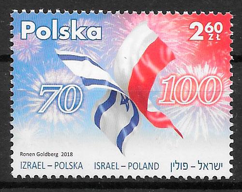 selos emisiones conjunta Polonia 2018