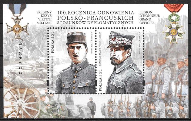 sellos Polonia emisiones conjunta 2019 Polonia