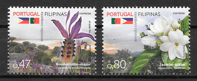 sellos conjuntas Portugal 2016