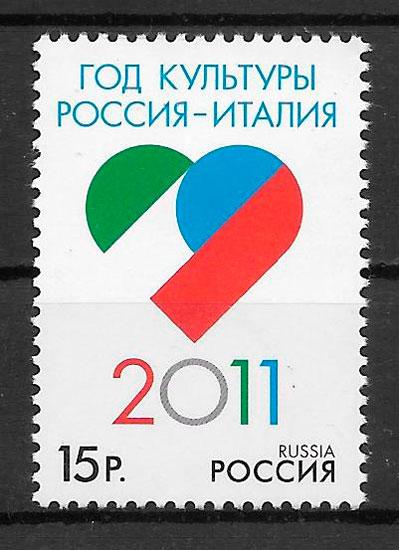 sellos emisiones conjunta Rusia 2011