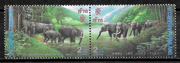 colección sellos emisiones conjunta 1995