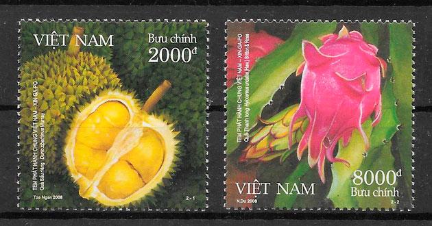 filatelia emisión conjunta Viet Nam 2008