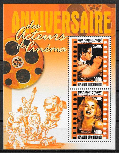 sellos cine Camboya 2001