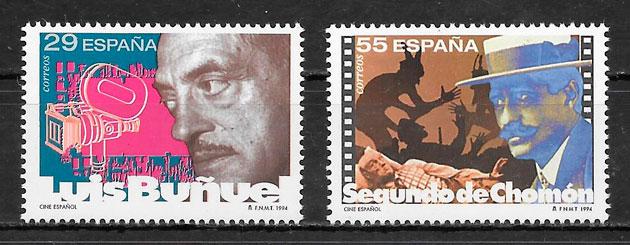 filatelia cine España 1994