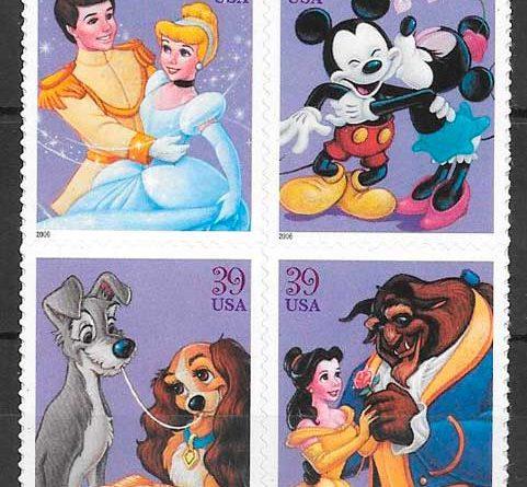 Sellos Disney de América