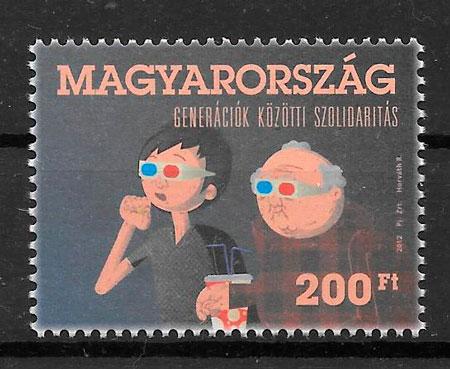 sellos cine Hungría 2012