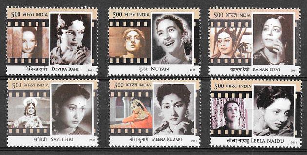 sellos cine India 2011