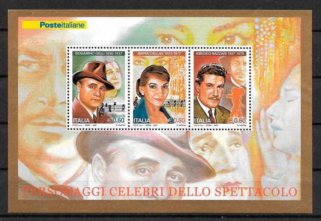 sellos cine Italia 2007