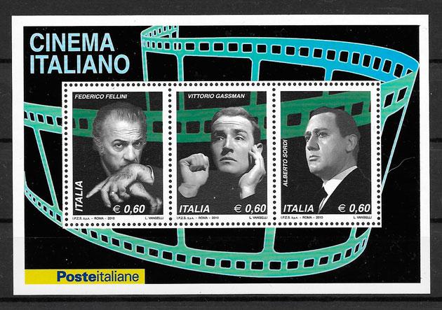 sellos cine Italia 2010